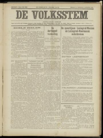 De Volksstem 1941-08-05