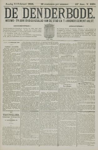 De Denderbode 1888-02-12