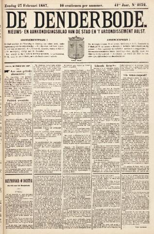 De Denderbode 1887-02-27