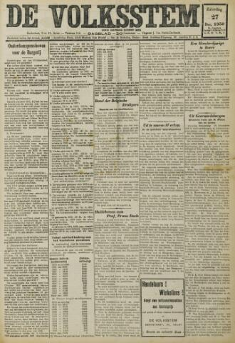 De Volksstem 1930-12-27