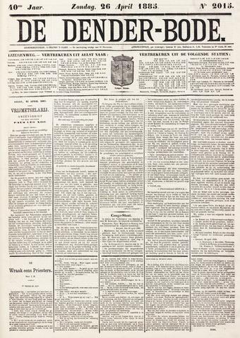 De Denderbode 1885-04-26