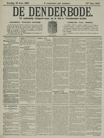 De Denderbode 1907-06-16