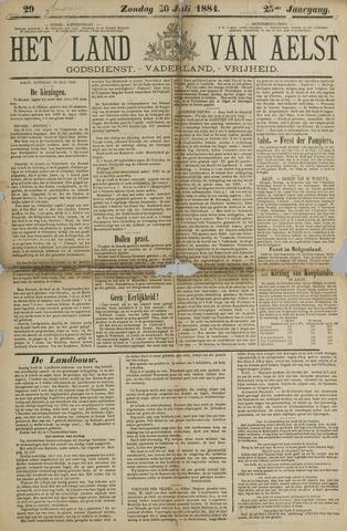 Het Land van Aelst 1884-07-20