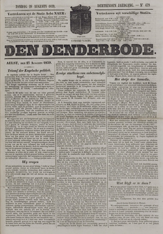 De Denderbode 1859-08-28