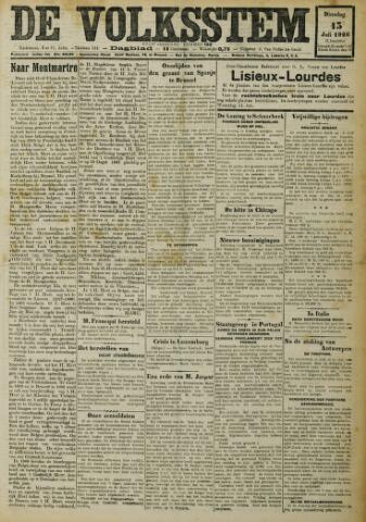 De Volksstem 1926-07-13