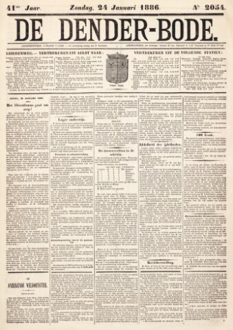 De Denderbode 1886-01-24