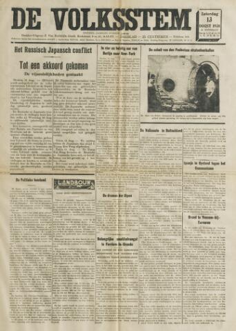 De Volksstem 1938-08-13