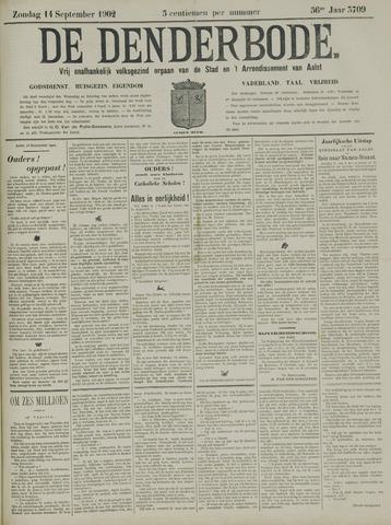 De Denderbode 1902-09-14