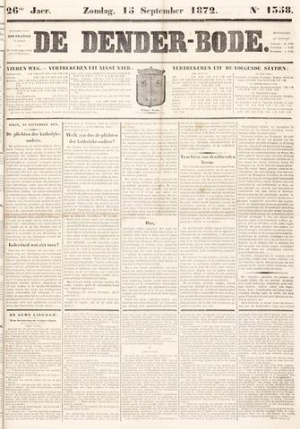 De Denderbode 1872-09-15