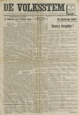 De Volksstem 1938-10-08