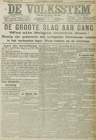 De Volksstem 1914-08-21