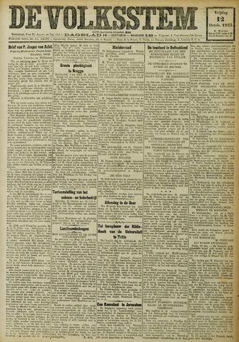 De Volksstem 1923-10-12