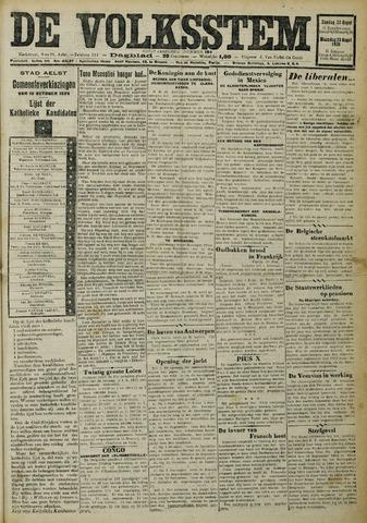 De Volksstem 1926-08-22