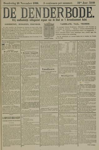 De Denderbode 1896-11-26