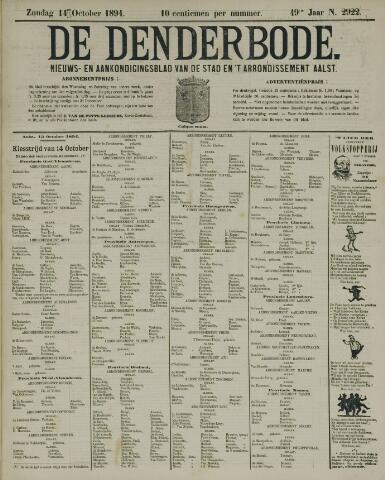 De Denderbode 1894-10-14