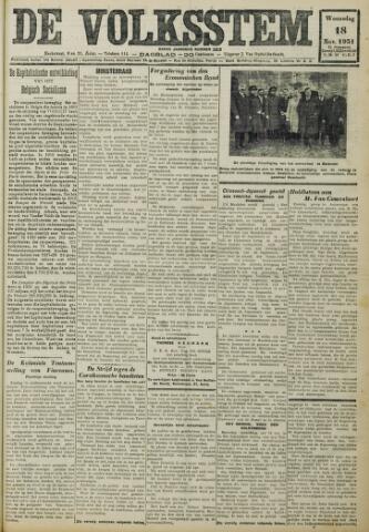 De Volksstem 1931-11-18