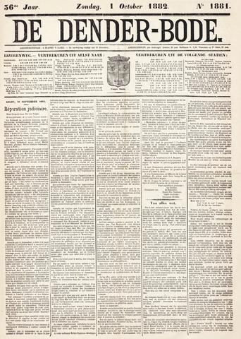 De Denderbode 1882-10-01