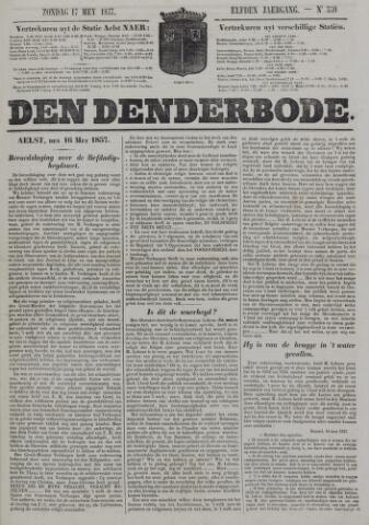 De Denderbode 1857-05-17