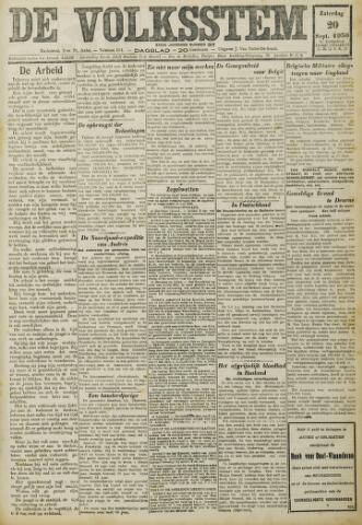 De Volksstem 1930-09-20