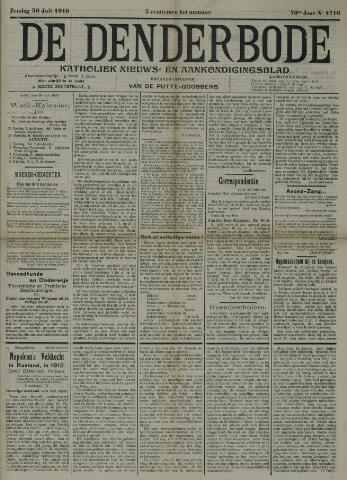 De Denderbode 1916-07-30