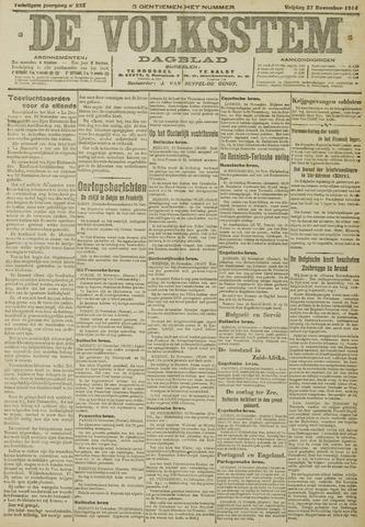 De Volksstem 1914-11-27