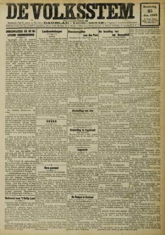 De Volksstem 1923-01-25
