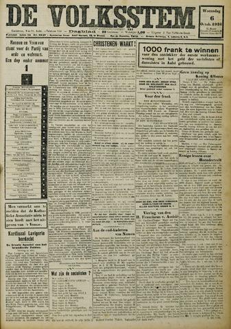 De Volksstem 1926-10-06
