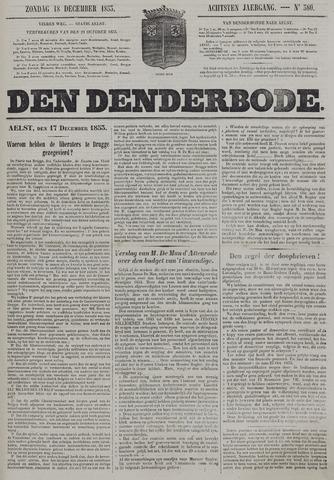 De Denderbode 1853-12-18