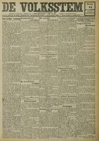 De Volksstem 1926-12-14