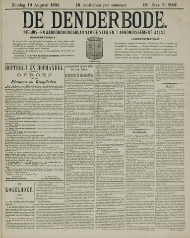 De Denderbode 1894-08-19