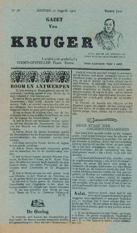 Kruger 1901-08-11