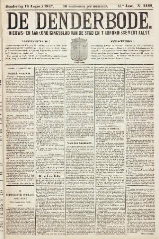 De Denderbode 1887-08-18