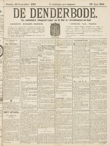 De Denderbode 1901-09-22