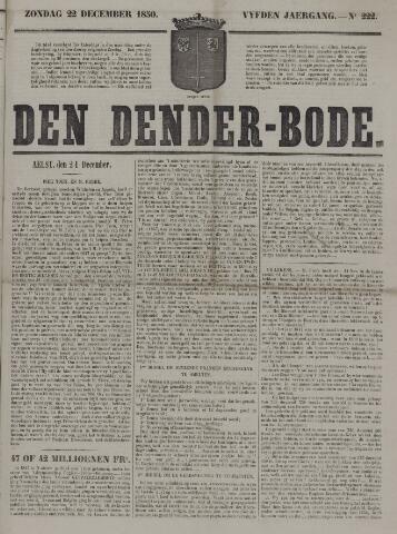 De Denderbode 1850-12-22