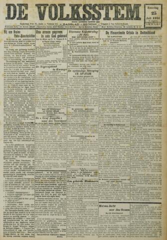 De Volksstem 1931-07-25