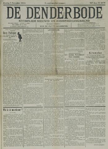 De Denderbode 1915-11-07