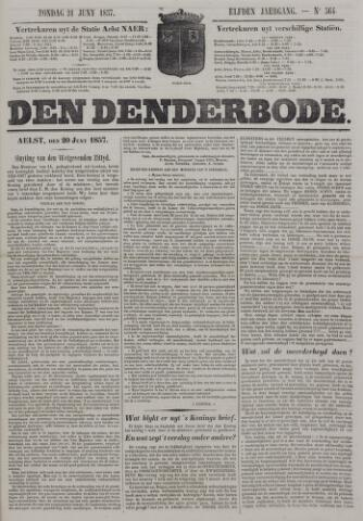 De Denderbode 1857-06-21