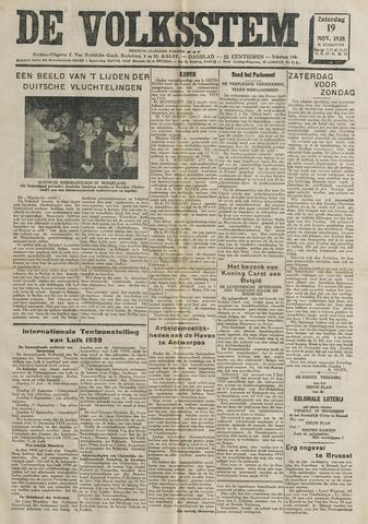 De Volksstem 1938-11-19