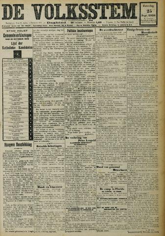 De Volksstem 1926-09-25