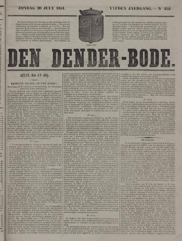 De Denderbode 1851-07-20