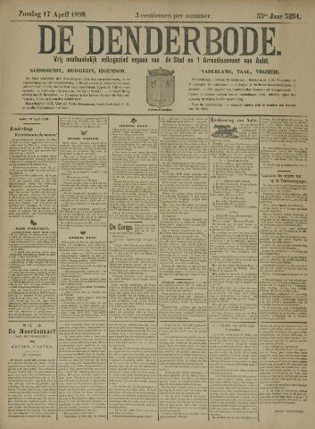 De Denderbode 1898-04-17