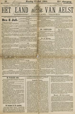 Het Land van Aelst 1884-07-13
