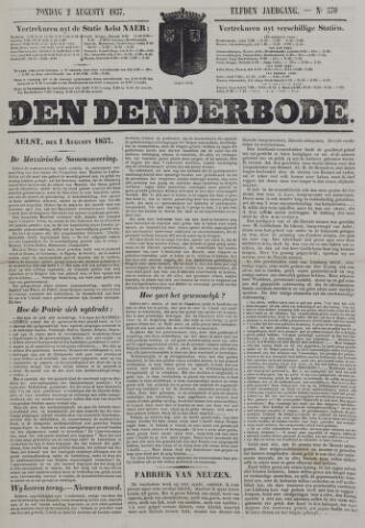 De Denderbode 1857-08-02
