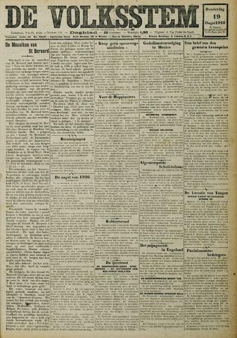 De Volksstem 1926-08-19