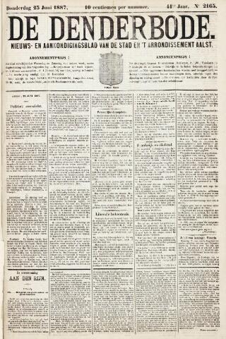 De Denderbode 1887-06-23