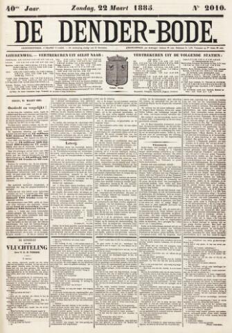 De Denderbode 1885-03-22