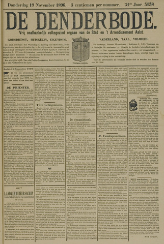 De Denderbode 1896-11-19