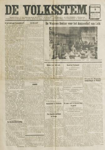 De Volksstem 1938-06-09