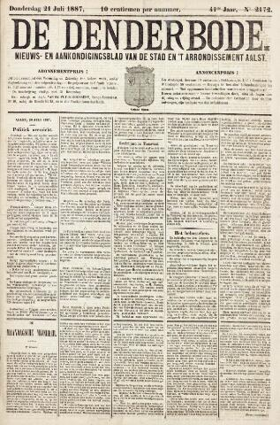 De Denderbode 1887-07-21