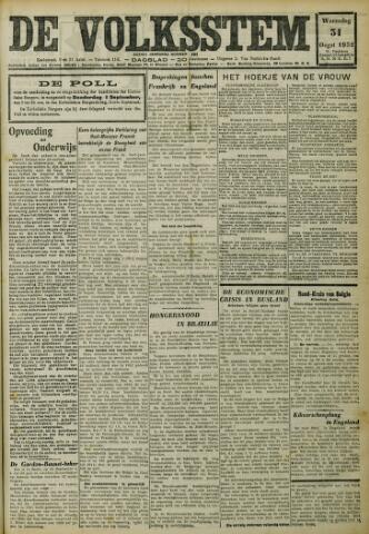 De Volksstem 1932-08-31